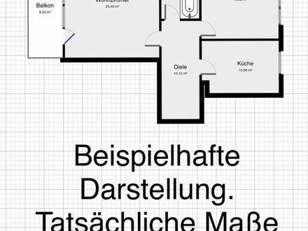 schöne 2-Zimmer-Wohnung, 1 Minute Fußweg zur Haltestelle Kirchfeld (Innenstadt-Wabe)