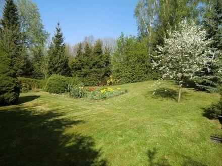 Gartengrundstück mit Bungalow bei Dresden, Linkselbische Täler