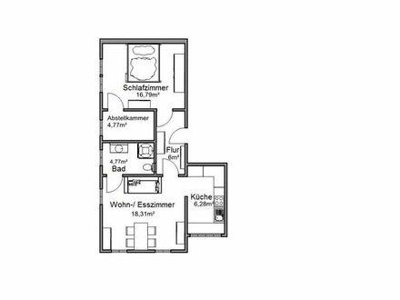 Vollmöblierte 2,5 Zimmer Wohnung (57 qm) auf Zeit