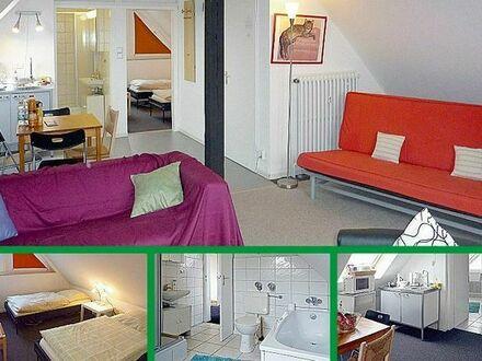 Günstiges Apartment Düsseldorf + Essen Messe Nähe EQUITANA Prowein EuroCIS