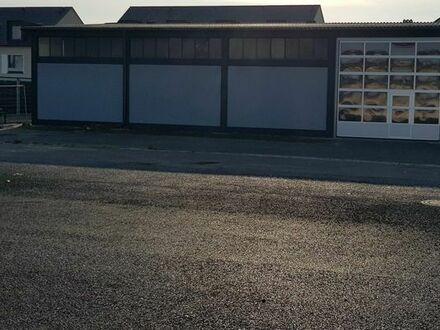 Lagerhalle 300qm und Stellplätze zu Vermieten