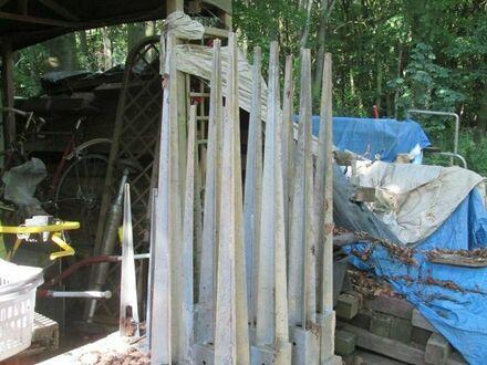 Holzzaunbodenspieße zu verkaufen