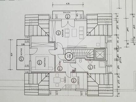 2 Zimmer-Wohnung mit 2 Balkonen (Süd und West) zu vermieten