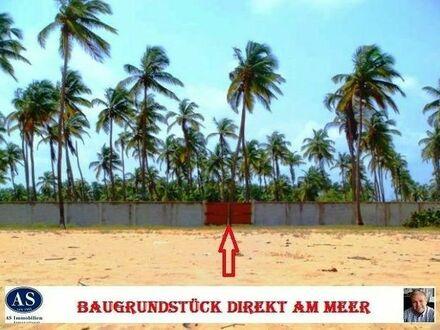 Cotonou (Benin)., ca. 4.500 qm Grundstück direkt am Meer + ca. 1500 qm Strandnutzung!