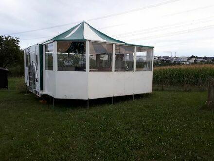 Vermietung/Verleih/Zelt einer mobilen Schirmbar Party Event Feste