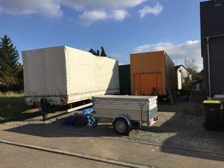 Stellfläche für LKW, Caravan, Baumaschinen, Material