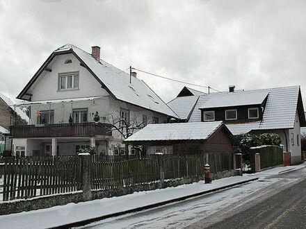 2 Häuser auf einem Grundstück. Mit großer Werktstatt: Auch für Gewerbetreibende geeignet.!