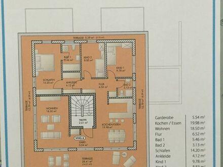 Exklusives Penthouse mit DACHTERRASE Neubau Waldperlach