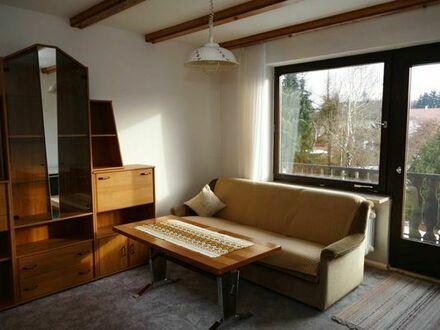 Helle möblierte 2-Zimmer Wohnung mit Süd-Balkon