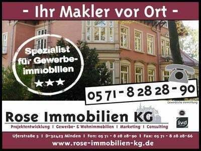 ROSE IMMOBILIEN KG: Vermietung von modernen Produktions-Lagerflächen, nähe BAB 2, BAB 30