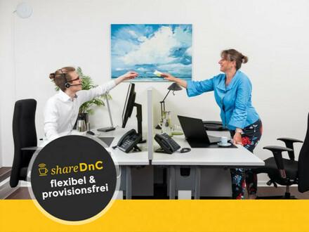 Stilvolle Schreibtischplätze in netter Bürogemeinschaft - All-in-Miete