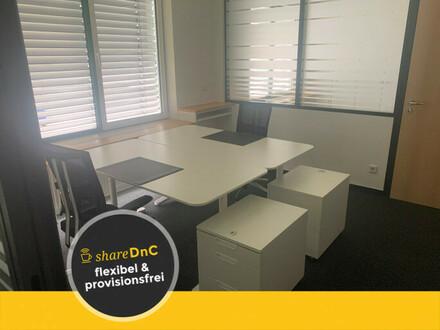 Desk sharing? - Super Idee, wir vermieten ganze Büros zum halben Preis - All-in-Miete