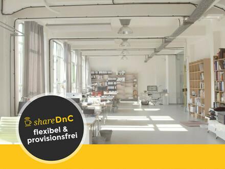Helle Arbeitsplätze in Jugendstil-Industriealtbau im Herzen Eppendorfs - All-in-Miete