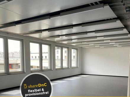 Moderne Büroräume mit Dachterrasse und Alpenblick - All-in-Miete