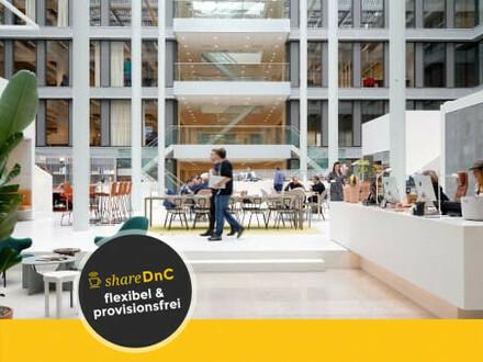 Flexible Büroräume und Arbeitsplätze im Geschäftsviertel - All-in-Miete