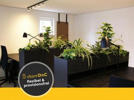 Arbeitsplatz oder Büro in design-orientierter Arbeitsgemeinschaft - All-in-Miete