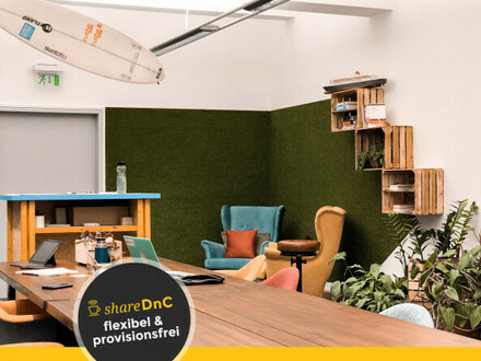Flexible Einzelbüro im Altbau mit Loftstyle in zentraler Lage - All-in-Miete