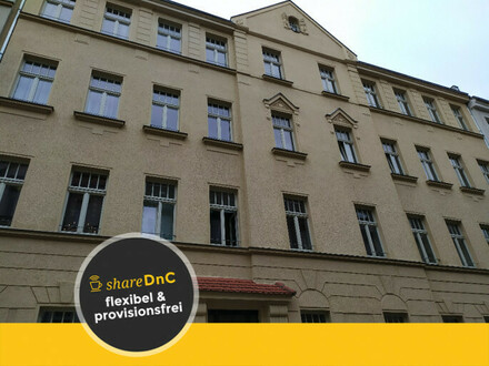 2 Räume in Bürogemeinschaft inkl. Küche, Südbalkon, Garten - All-in-Miete