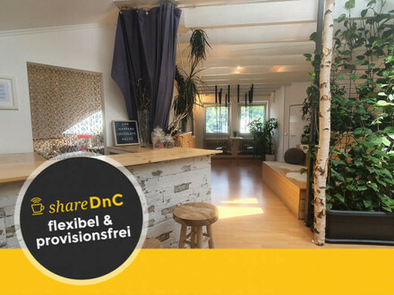 Helle Büroräume/Coworkingdesks mit Konferenzräumen/Dachterrasse/uvm - All-in-Miete