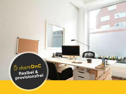 Bürogemeinschaft für kreative Köpfe in Eimsbüttel - All-in-Miete