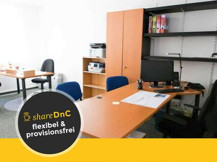 Offenes Büro in gut ausgestatteter Bürogemeinschaft - All-in-Miete