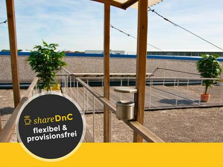 Büros und Arbeitsplätze in modernisiertem Altbau in Flughafennähe zu vermieten - All-in-Miete