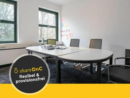 Helle Büroräume mit umfangreicher Ausstattung in der Innenstadt - All-in-Miete