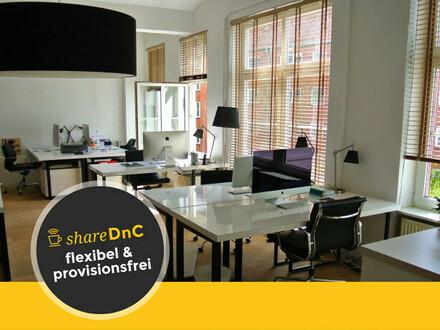 Offene Arbeitsplätze in stylischem Office - All-in-Miete