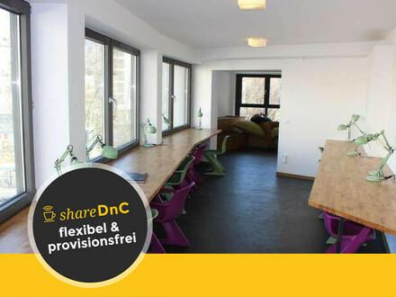 Offene Arbeitsplätze in Coworking Space im kreativem Umfeld in Schöneberg - All-in-Miete