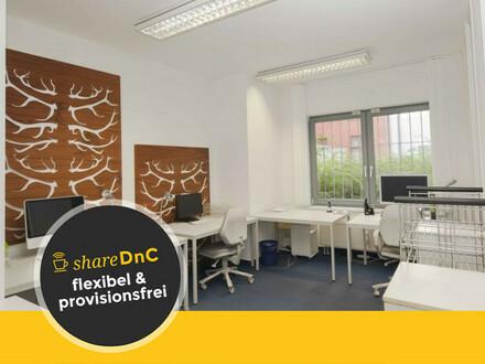 Ruhige Arbeitsplätze in Büro einer Marketingagentur nahe Kollwitzplatz - All-in-Miete