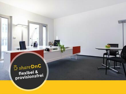 Helle Büroräume in Coworking Space - All-in-Miete