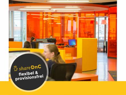 Bürofläche mit 5 Arbeitsplätze in unserer großen Bürolandschaft - All-in-Miete