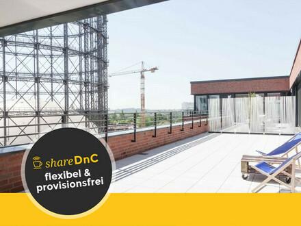 Top ausgestattete Arbeitsplätze mit wunderbarer Aussicht am EUREF Campus - All-in-Miete