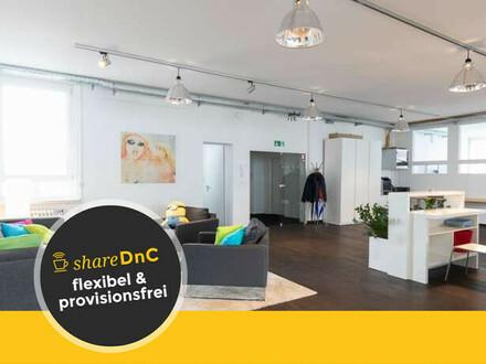 Stylisches Loft Büro mit Lounge und flexibler Aufteilung am Ostbahnhof - All-in-Miete