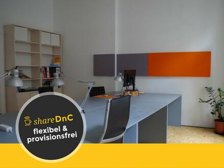 Offene Arbeitsplätze in Kreativbüro in direkter Nähe zur Hasenheide - All-in-Miete