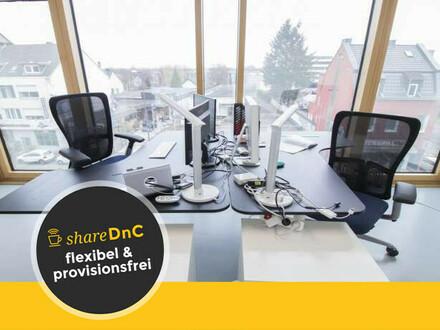 Lichtdurchflutetes Büro in einem Neubau in Köln - All-in-Miete
