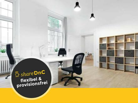 Voll ausgestattete Büroarbeitsplätze in Hinterhof Büro in Berlin Friedenau - All-in-Miete