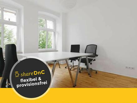 Möblierter Büroraum in hellem Altbau in Berlin Mitte - All-in-Miete