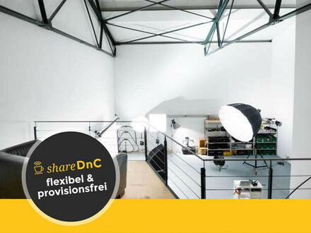 Top ausgestattete Ateliergemeinschaft in Köln Ehrenfeld - All-in-Miete
