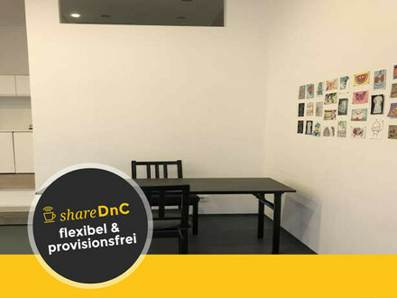 Shared office and exhibition space in Prenzlauer Berg - All-in-Miete