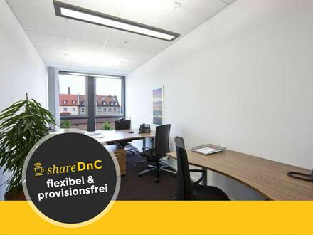 Flexible moderne Büros und Coworking Arbeitsplätze - All-in-Miete