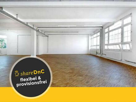 Großes unmöbliertes Büro in der Berliner Lichtfabrik - All-in-Miete