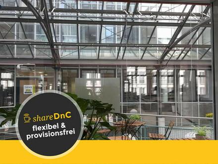 Arbeitsplätze und Büroräume in modernem Coworking Space in schöner Passage - All-in-Miete