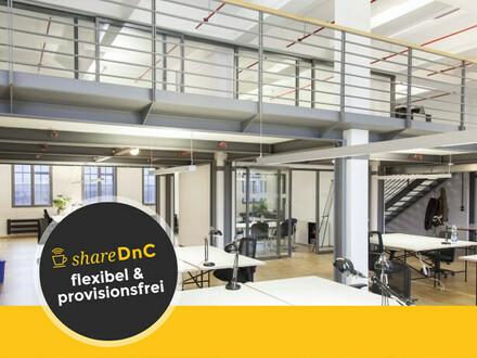 Arbeiten in cooler Location mit industriellem Loftcharakter - All-in-Miete