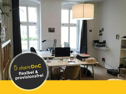Freie Arbeitsplätze in hellem Journalistenbüro in Prenzlauer Berg - All-in-Miete