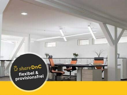 Komfortable Arbeitsplätze und Büroraum in neuem Coworking Space - All-in-Miete
