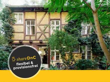 Schöner Arbeitsplatz in einer Remise in Berlin - All-in-Miete
