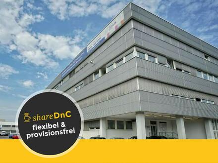 Flexible Büros inmitten von Grünanlagen im Gewerbepark - All-in-Miete