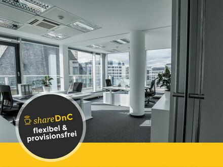 Individuelle Büroräume und Arbeitsplätze in modernem Gebäude - All-in-Miete