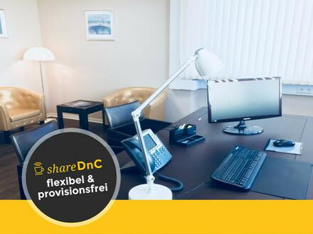 Perfekt ausgestattete Büroräume in Coworking-Space in Darmstadt-West - All-in-Miete